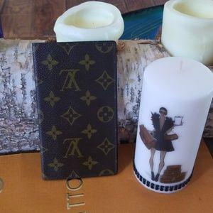 Authentic Louis Vuitton check holder